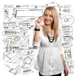 Schreibübung: Kommen Sie auf den Punkt